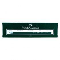 مداد مشکی HB شش وجهی فابرکاستل مدل 111100 بسته 12 عددی