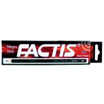 مداد مشکی HB شش وجهی فکتیس مدل نگرو 9000 بسته 12 عددی