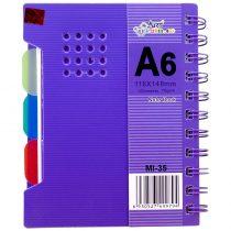دفترچه یادداشت آرت نگین سایز متوسط کد MI-35