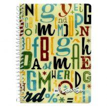 دفترچه لغت زبان 80 برگ فنر تک دوکا کد 110-80