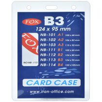 جاکارتی آویز (سمیناری) Fox مدل B3 کد NB-113