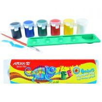 گواش 6 رنگ آریا کد 4009