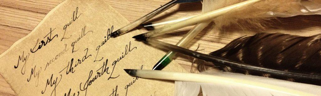 قلم و کاغذهای اولیه
