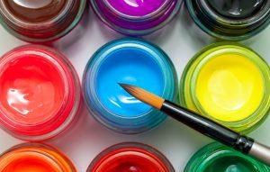 دنیای رنگی با گواش