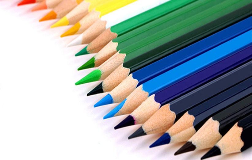 شگفتی های دنیای مداد رنگی