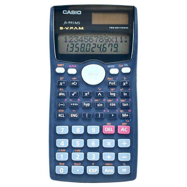ماشین حساب مهندسی کاسیو مدل fx-991MS