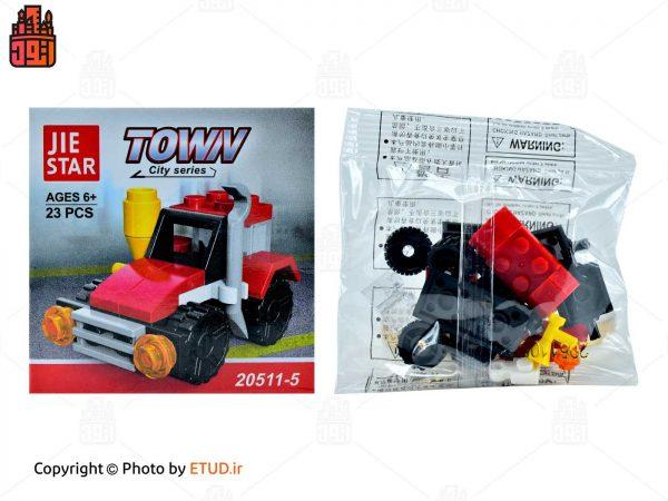 لگو JIE STAR مدل Town کد 20511-5