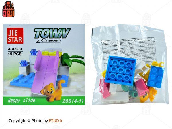 لگو JIE STAR مدل Town کد 20514-11