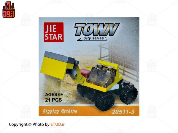 لگو JIE STAR مدل Town کد 20511-3