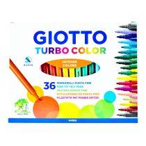ماژیک 36 رنگ جیوتو مدل turbo color