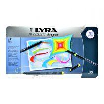 ماژیک حرفه ای 30 رنگ لیرا مدل Art Pen Professional