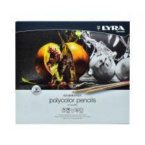 مداد رنگی 24 رنگ حرفه ای لیرا مدل پلی کالر