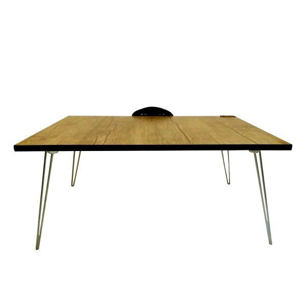 میز تحریر تاشو 2 حالته ایلیا سایز 70